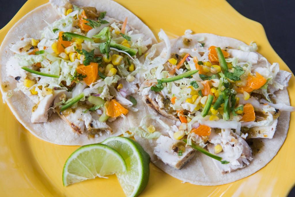 Orange Lime Fish Tacos