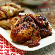 Spicy Roasted Chicken Legs