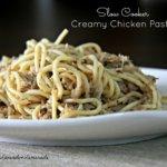 Creamy Slow Cooker Chicken Pasta