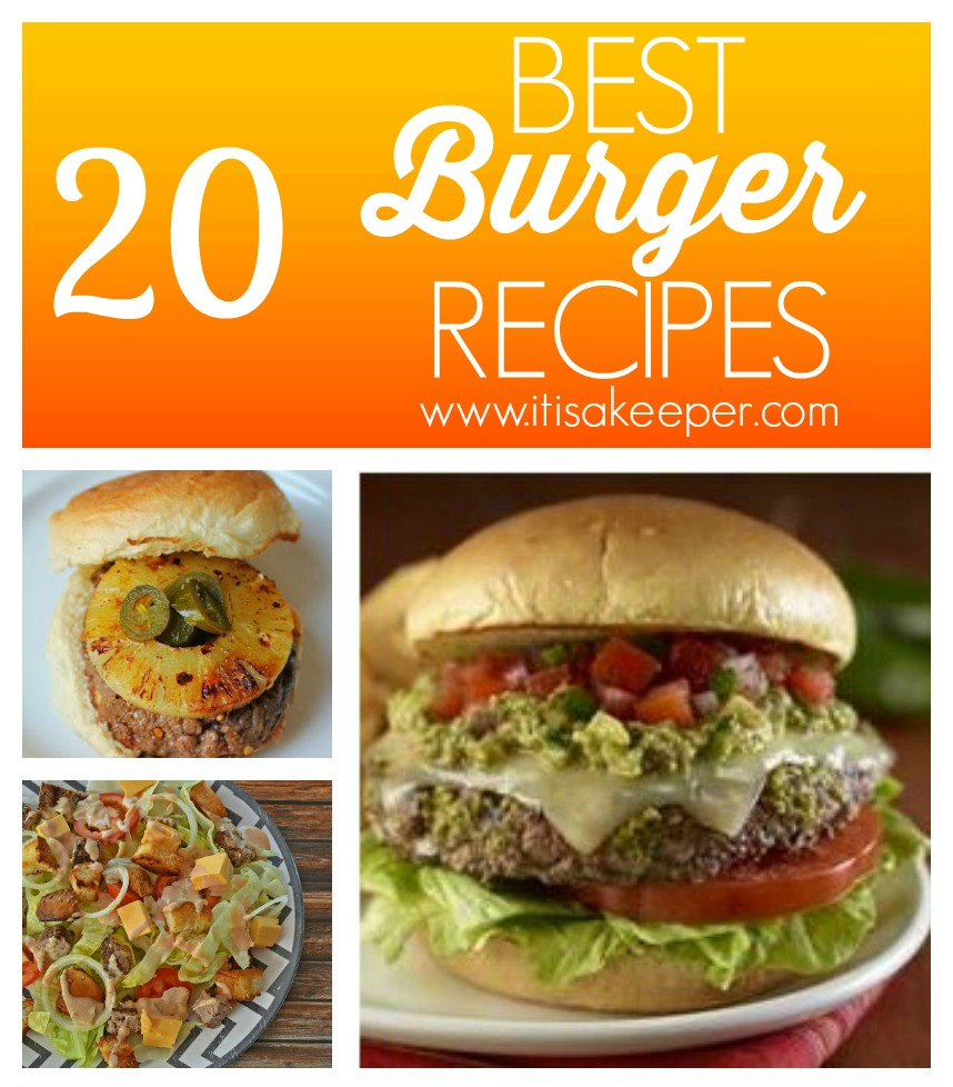 20 Best Burger Recipes