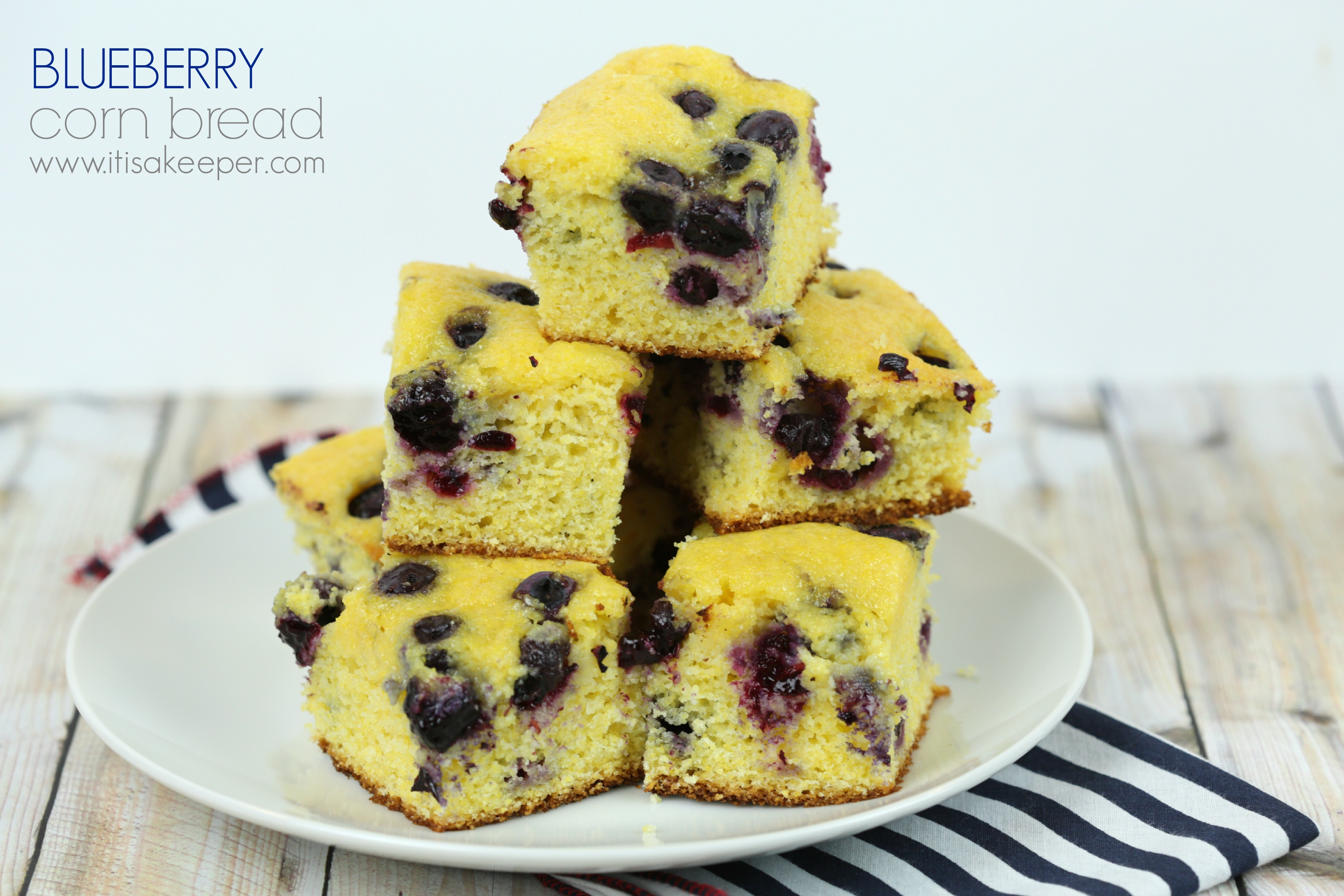 Corn Bread Your Way: Easy Blueberry Corn Bread