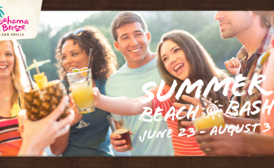 Bahama Breeze is your summer destination for good times!