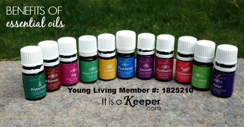Benefits of Essential Oils - It's a Keeper