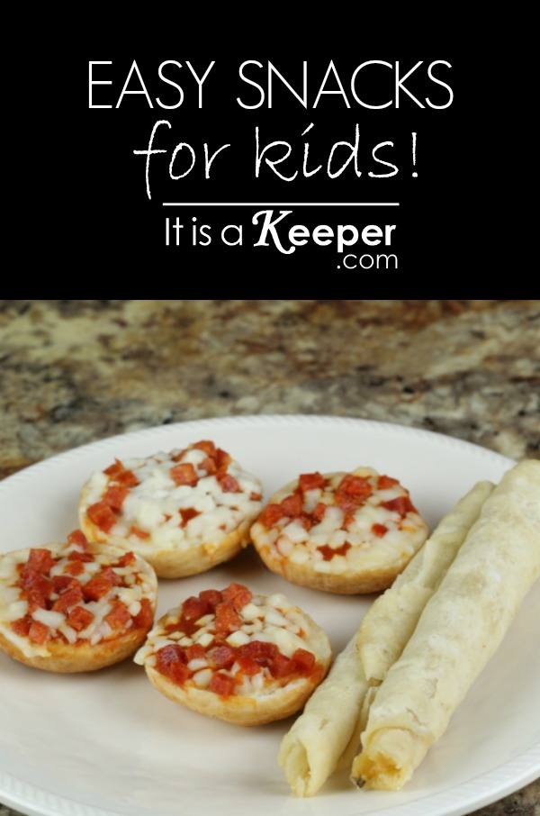 Easy Snacks for Kids - It's a Keeper