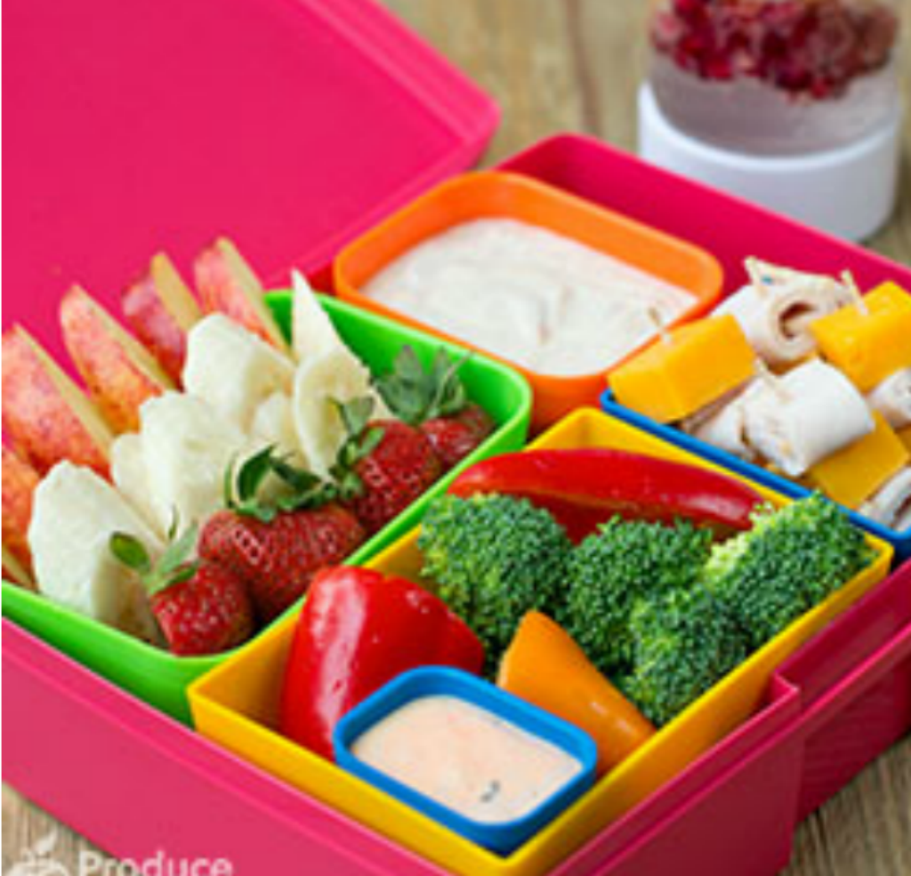 Fun Bento Box Fondue