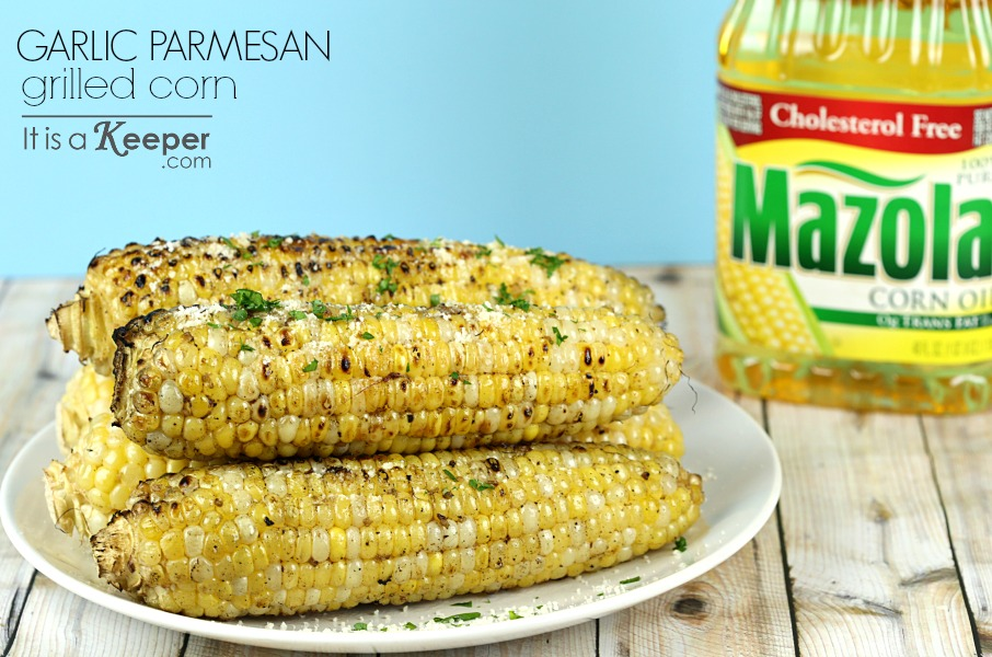 Garlic Parmesan Grilled Corn on the Cob - It Is a Keeper