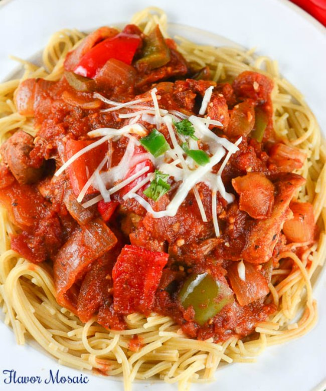 Slow Cooker Chicken Cacciatore | It Is a Keeper