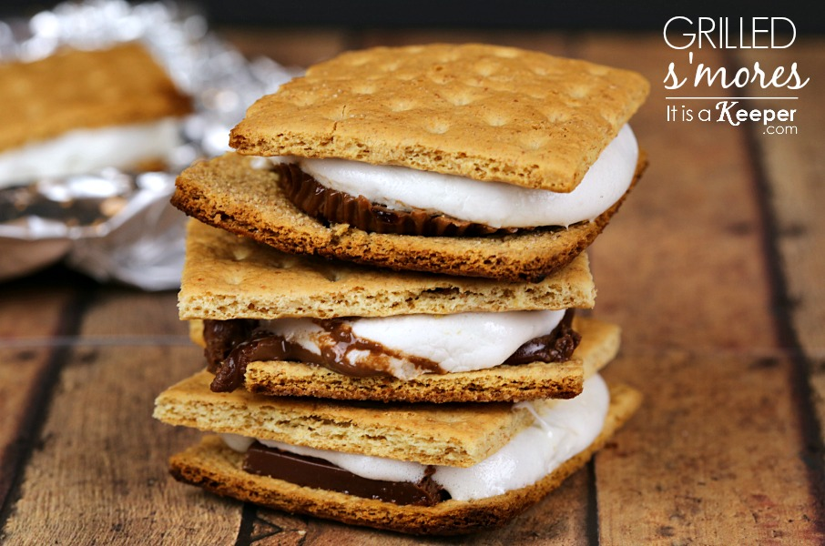 Grilled Smores - It's a Keeper