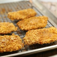 Tex Mex Oven Fried Pork Chop - It's a Keeper FEATURED