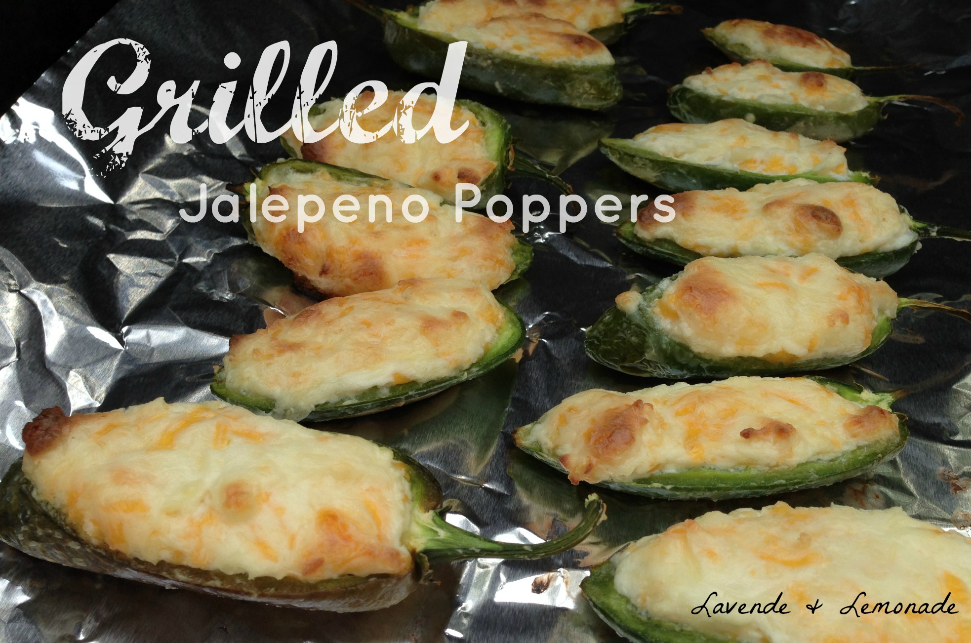Spicy Grilled Jalapeno Poppers
