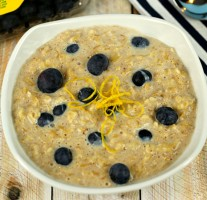 Blueberry Muffin Oatmeal - It's a Keeper
