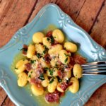 15 Minute Recipe: Gnocchi with Speck Ham in Butter Garlic Sauce