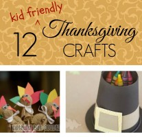 12 Thanksgiving Crafts- It Is a Keeper