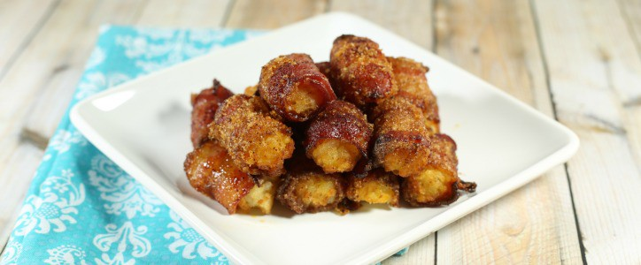 Easy Party Appetizer: Sweet Bacon Tater Tots