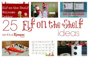 Elf on a Shelf Ideas - It Is a Keeper