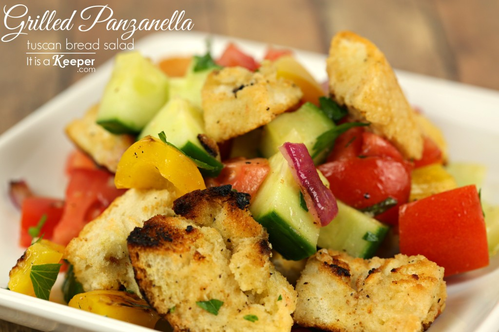 Grilled Panzanella - It's a Keeper