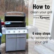 How to Clean Your Grill - It Is a Keeper