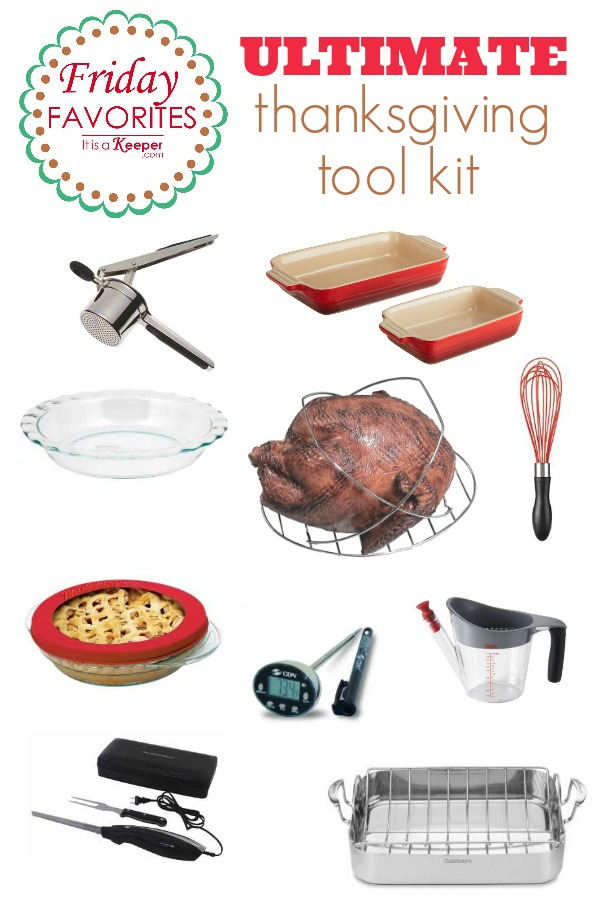 ultimate thanksgiving tool kit - It Is a keeper