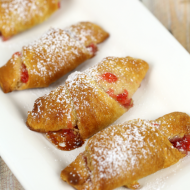 Christmas brunch recipes Peanut Butter and Jelly Crescents - It Is a Keeper FEAT