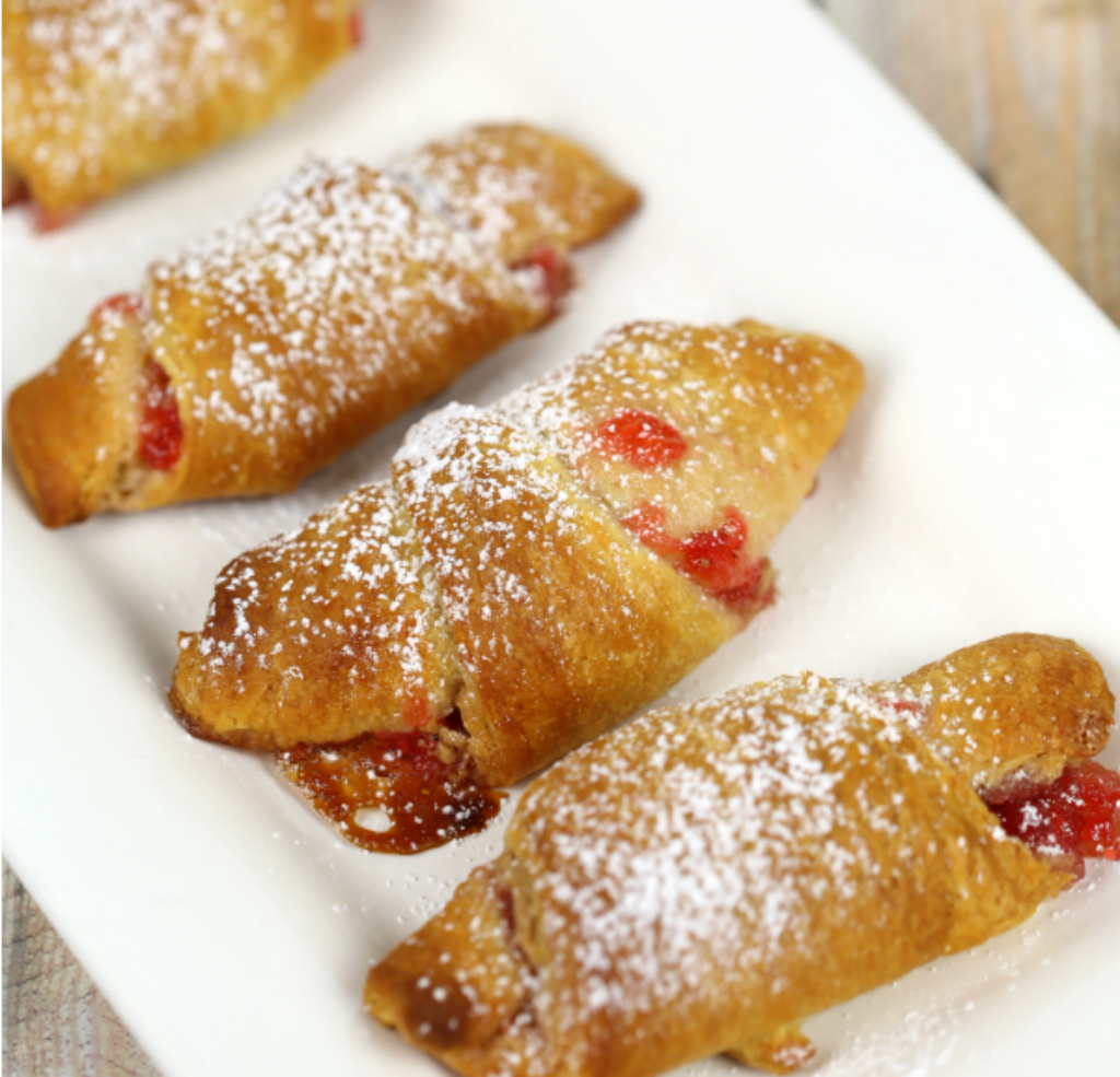 Peanut Butter & Jelly Crescents