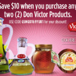 Don Victor Honey Coupon and Sweepstakes
