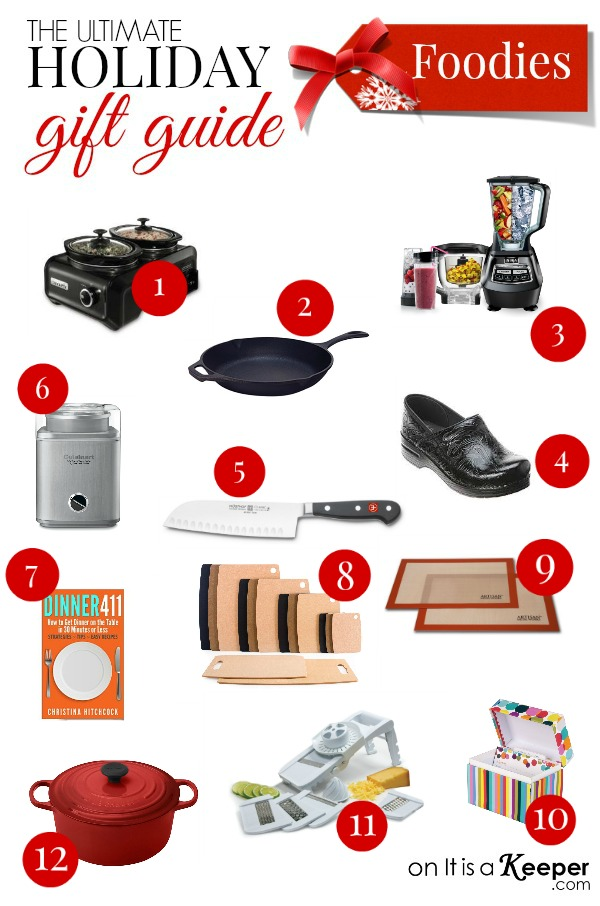 Holiday Gift Guide Best Christmas Gifts for Foodies