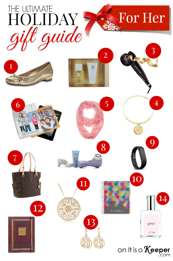 Holiday Gift Guide for Her - It Is a Keeper