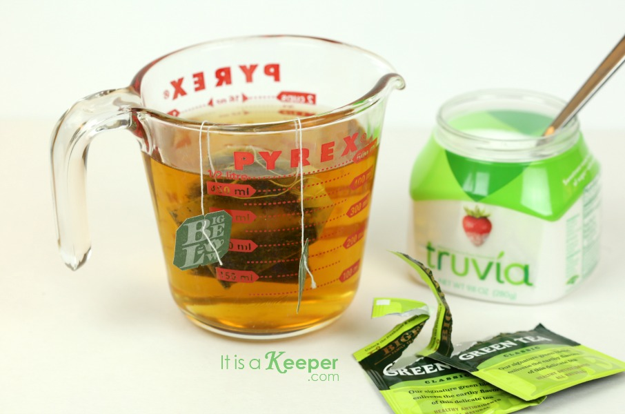 Raspberry Lime Detox Green Tea - It Is a Keeper