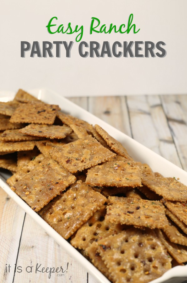 Easy Cold Appetizer Recipes Ranch Party Crackers - It Is a Keeper