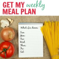 Meal Planning Weekly - It Is a Keeper