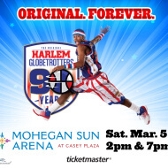 Win Tickets to see the Harlem Globetrotters in Wilkes Barre, PA
