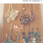 Bedroom Organizing Ideas: Organizing Jewelry