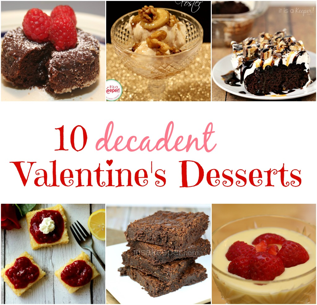 10 Valentines Dessert Recipes