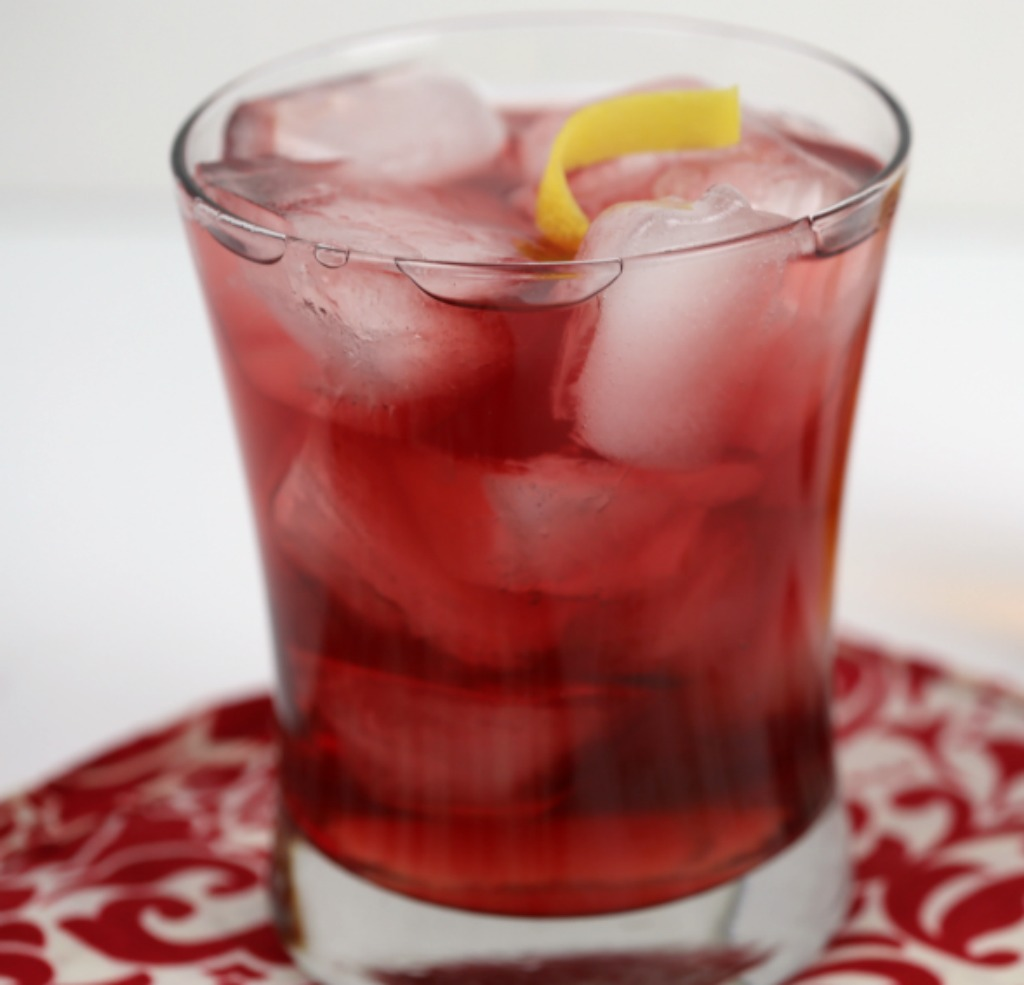 Red Pom Pom Cocktail