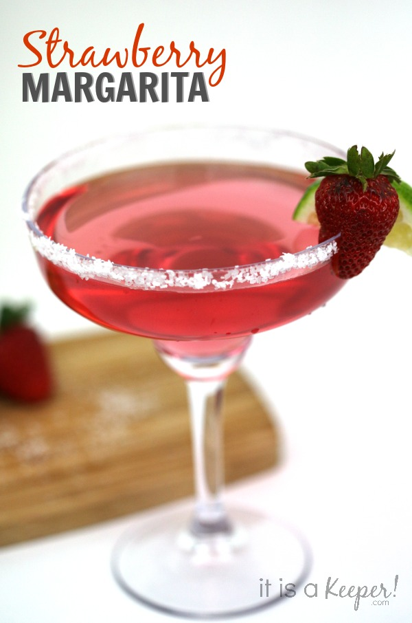 Simple Cocktail Recipes Strawberry Margarita - It Is a Keeper