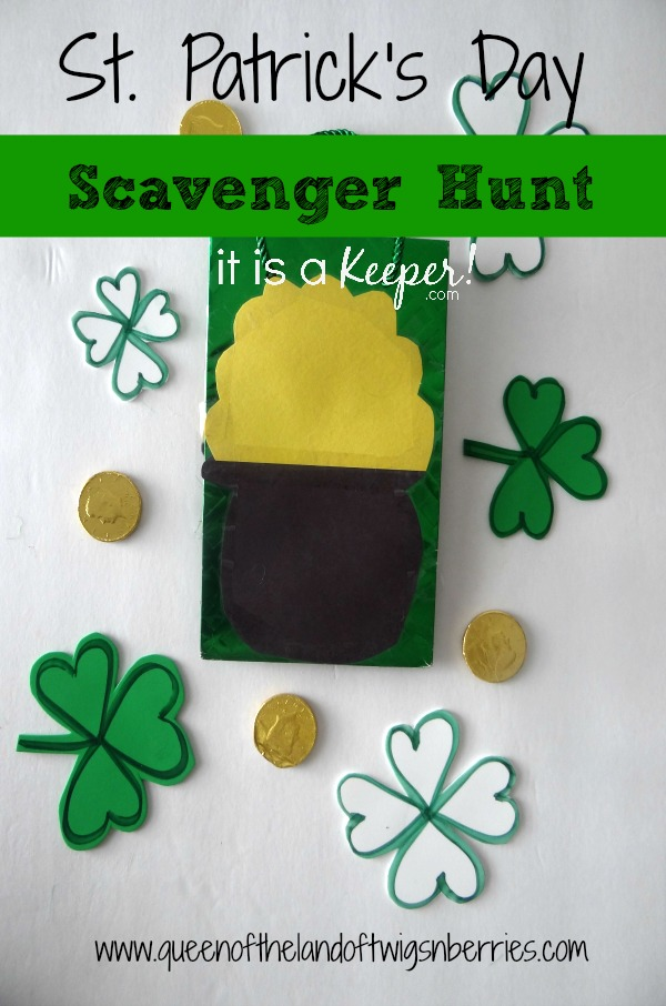 St. Patrick's Day Scavenger Hunt - It is a Keeper