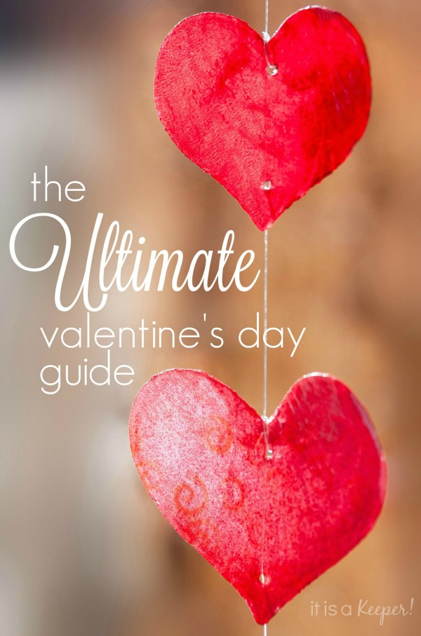 The Ultimate Valentine's Day Guide - printables, recipes, crafts, decorations and more