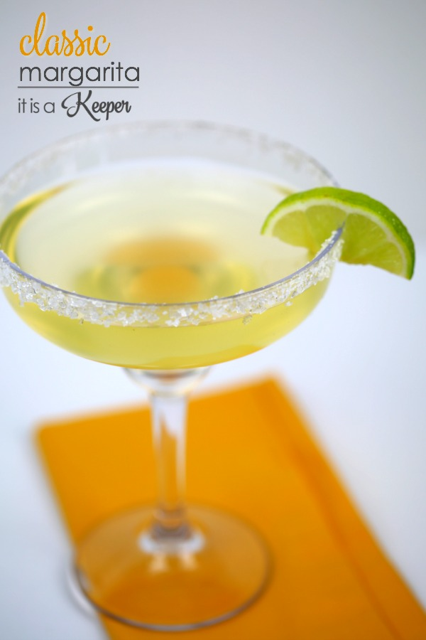 The perfect classic margarita recipe