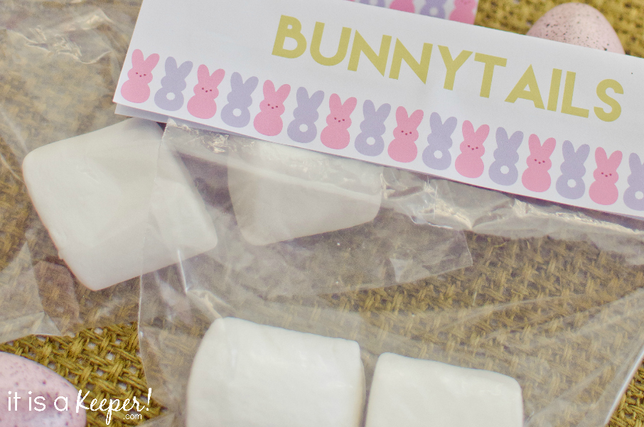 free printable bunnytails bag topper SUPPORTING - it is a keeper 4