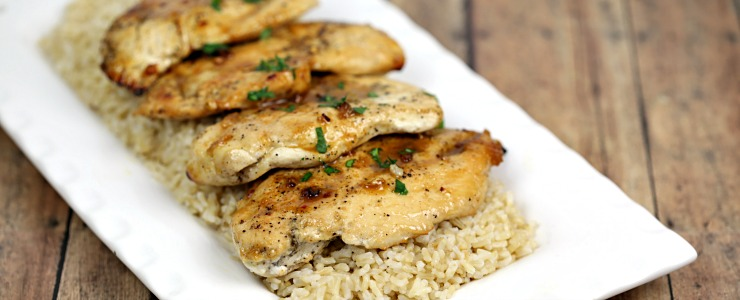 Easy Honey Ginger Chicken