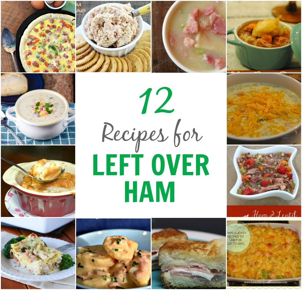 12 Recipes for Left Over Ham