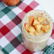 Apple Cinnamon Overnight Oats FEATURED IMAGE - It Is a Keeper
