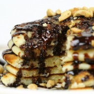 Easy Homemade Pancake Recipe SNICKERS Pancakes - It Is a Keeper