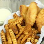 Fish Dinner Recipes Crab Fries and Fish Basket - It is a Keeper