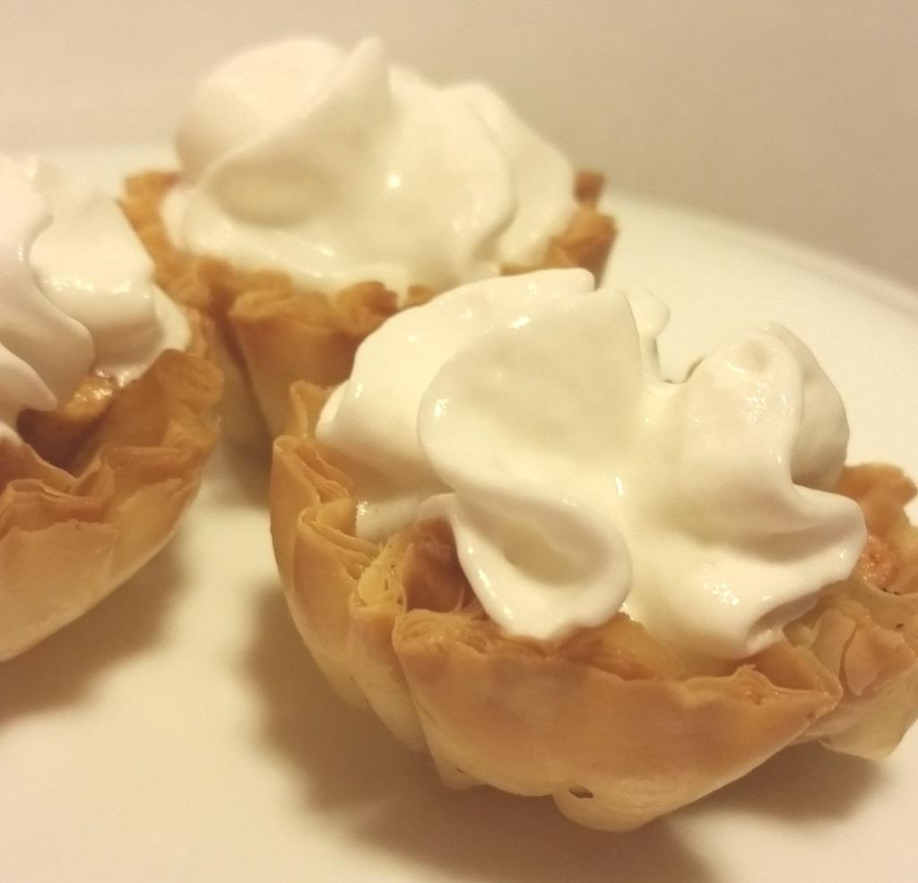 Mini Fillo Apple Pies