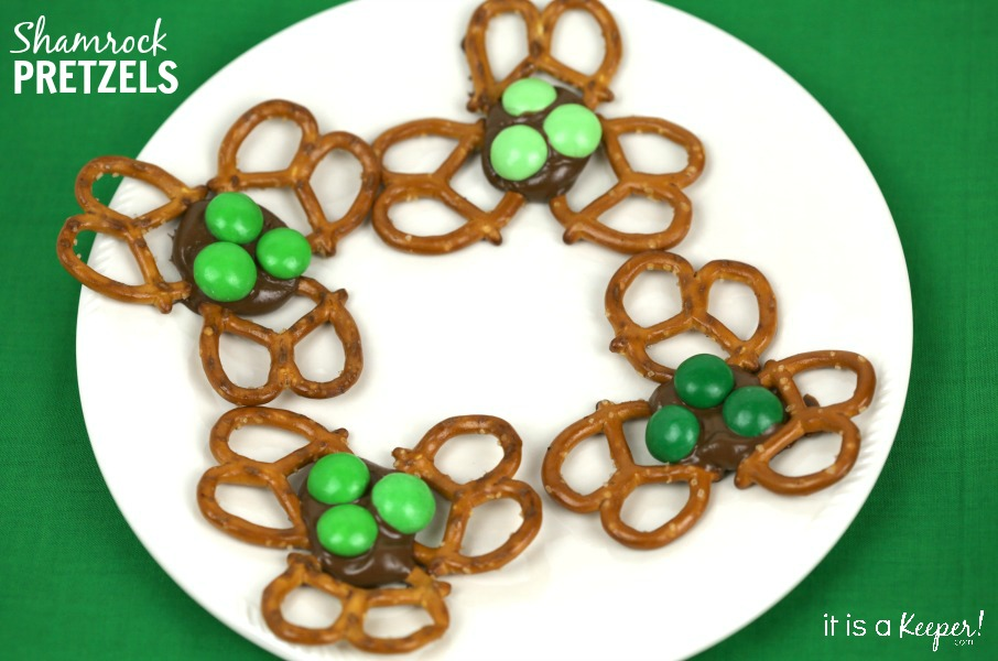 Shamrock Pretzels - It is a Keeper