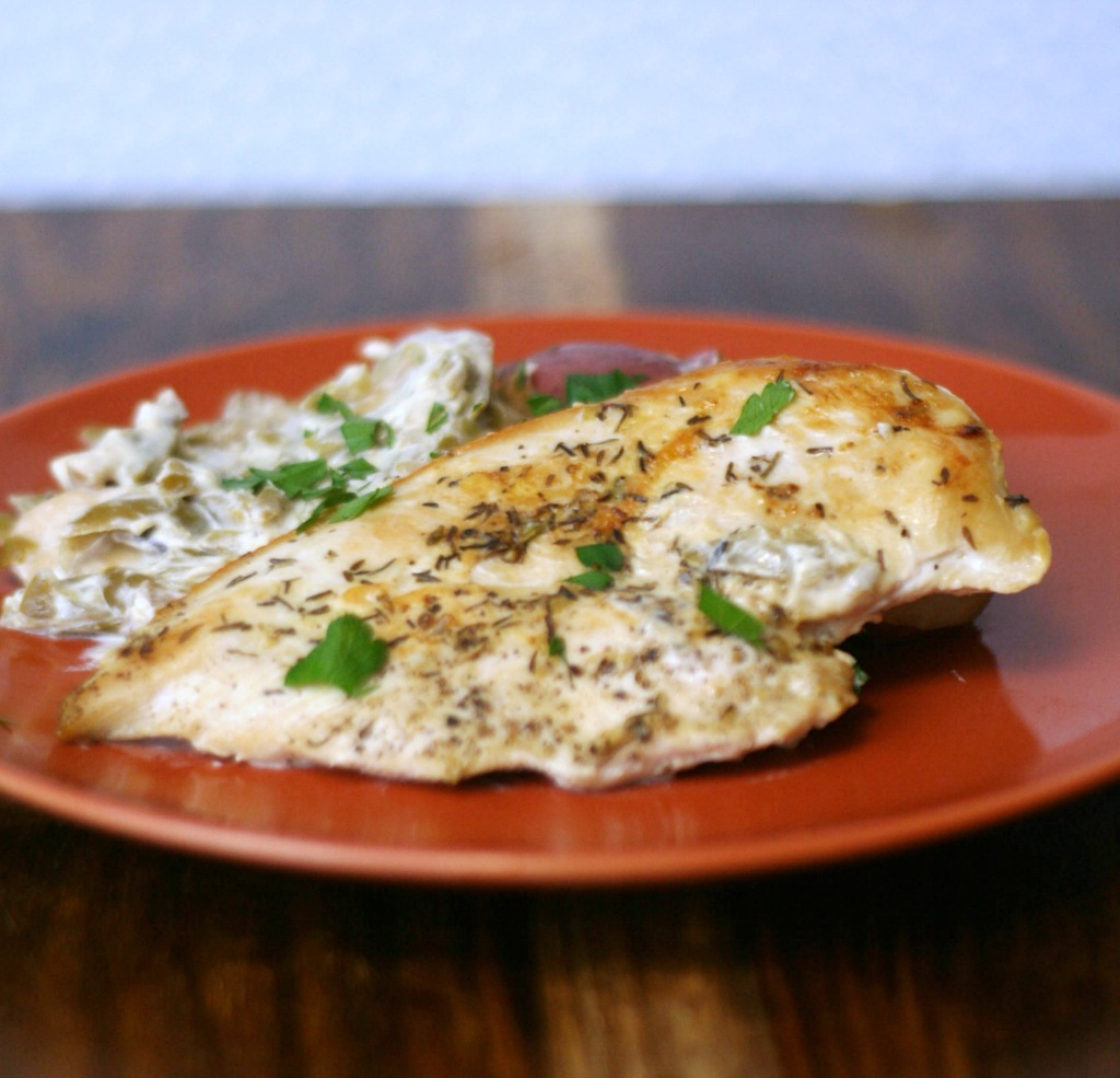Skillet Lemon Chicken