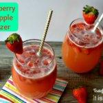 Strawberry Pineapple Spritzer