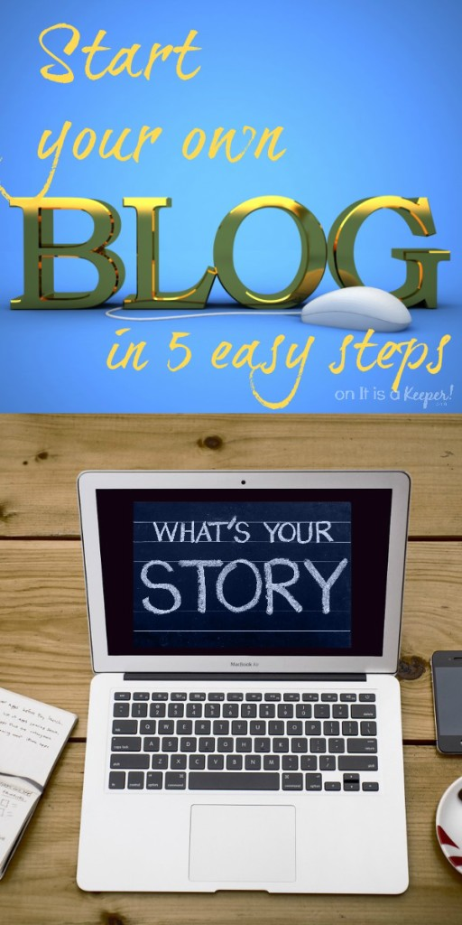 Start Your Own Blog - It is a Keeperq