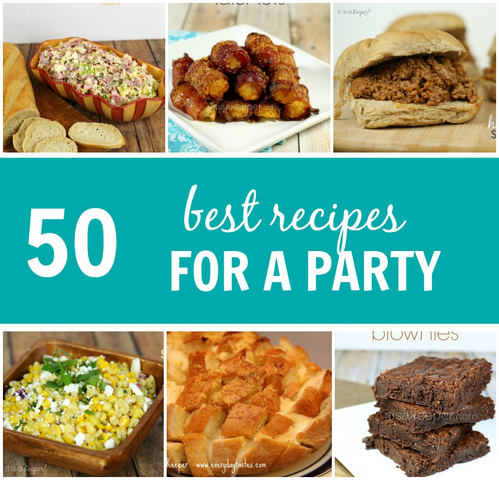 50 Best Recipes for a Party